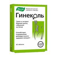Гинеколь таблетки 240 мг, 40 шт.