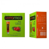 ГипоФри (HypoFree) гель д/приема внутрь вкус клубники 0,5 XE 5 г глюкозы 10 шт. упак.