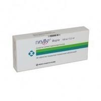 Гизаар форте таблетки 12,5+100 мг, 28 шт.