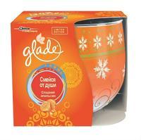 Glade Ароматизированные свечи Сладкий апельсин Смейся от души 120 г