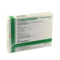 Глиатилин раствор для в/в и в/м введ 1000 мг/4мл 4 мл ампулы 3 шт.