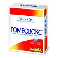 Гомеовокс таблетки покрыт.об. 60 шт.
