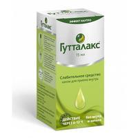 Гутталакс капли для приема внутрь 7.5 мг/мл, 15 мл