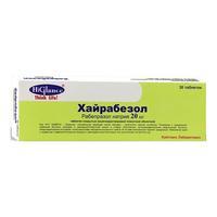Хайрабезол капсулы кишечнорастворимые 20 мг 30 шт.