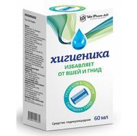 Хигиеника средство педикулицидное 1% 60 мл флакон 1 шт.