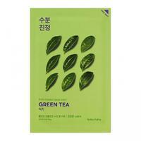 Holika Holika Pure Essence противовоспалительная тканевая маска зеленый чай 20 мл