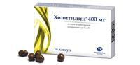 Холитилин капсулы 400 мг 14 шт.