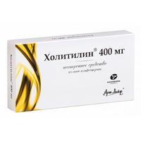 Холитилин капсулы 400 мг 28 шт.