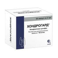 Хондрогард ампулы 100 мг/мл, 2 мл, 25 шт.