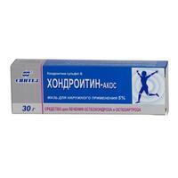 Хондроитин - акос 5% мазь д/нар. прим. 30г туба
