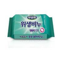 Хозяйственное мыло Mukunghwa Laundry soap Антибактериальное, противовирусное, антигрибковое для стирки белья 230гр