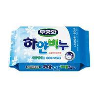 Хозяйственное мыло Mukunghwa Laundry soap Отбеливающее для стирки взрослого и детского белого белья 230гр