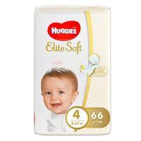 Huggies Подгузники Elite Soft 4 8-14кг 66шт