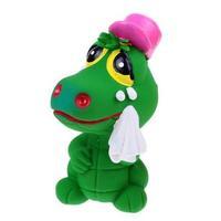 Игрушка Lanco латексная в инд.упак. Крокодильчик печальный 1 шт.