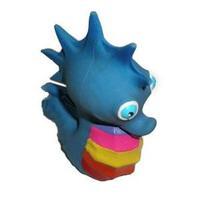 Игрушка Lanco латексная в инд.упак. Морской конек разноцветный 1 шт.