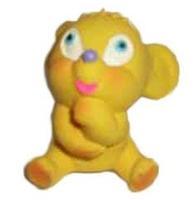 Игрушка Lanco латексная в инд.упак. Мышка мечтающая 1 шт.