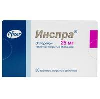 Инспра таблетки 25 мг, 30 шт.