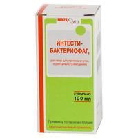 Интести-бактериофаг жидкий флаконы, 100 мл