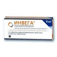 Инвега таблетки пролонгированного действия 9 мг, 28 шт.