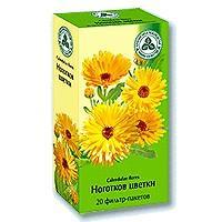 Календулы /ноготки/ цветки 1,5г фильтр-пакет х20