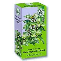 Мяты перечной листья 1.5г фильтр-пакет х20