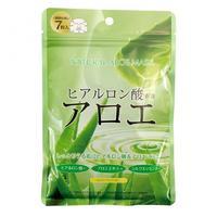 Japan Gals маска с экстрактом алоэ 7 шт.