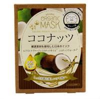 Japan Gals маски для лица органические с экстрактом кокоса 7 шт.