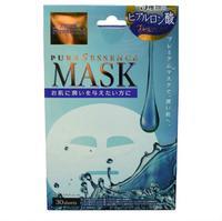 Japan Gals Premium маска для лица c тремя видами гиалуроновой кислоты 30 шт.