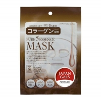Japan Gals Pure 5 Essential маска с коллагеном 1 шт.