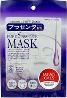 Japan Gals Pure 5 Essential маска с плацентой 1 шт.