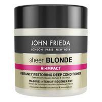 John Frieda Sheer Blonde Flawless Recovery Восстанавливающий маска для окрашенных волос 150 мл