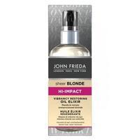 John Frieda Sheer Blonde Hi-Impact масло-эликсир для восстановления сильно поврежденных волос 100 мл