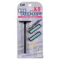 Kai бритвенный станок KA2 с 2-мя лезвиями 1 шт.