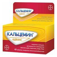 Кальцемин Адванс таблетки, 60 шт.