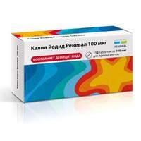 Калия йодид Renewal таблетки 100 мкг 112 шт.