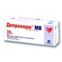 Депренорм мв таблетки 35 мг, 30 шт.
