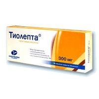 Тиолепта таблетки 300 мг, 30 шт.