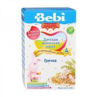 Каша Беби (Bebi) Премиум молочная гречка 4 мес. 200г упак.