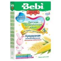 Каша Беби (Bebi) Премиум низкоаллергенная кукурузная с пребиотиками 5 мес. 200г упак.