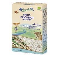 Каша Fleur Alpine молочная Органик рисовая 4мес. 200г упак.
