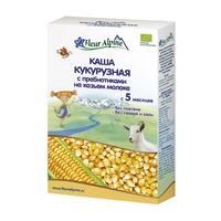 Каша Fleur Alpine на козьем молоке Органик кукурузная с пребиотиками 5 мес. 200г