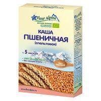 Каша Fleur Alpine Органик пшеничная спельтовая 5 мес. 175г упак.