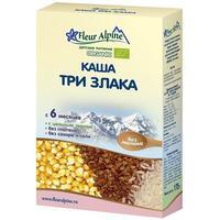 Каша Fleur Alpine Органик пшенная и смесь злаков 6 мес. 175г упак.