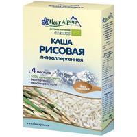 Каша Fleur Alpine Органик рисовая гипоаллергенная 4 мес. 175г упак.