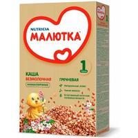 Каша Малютка гречневая низкоаллергенная с витаминами и минералами 4 мес. 200 г упак.