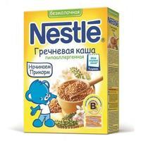 Каша Nestle гречневая с бифидобактериями с витаминами и минералами 4 мес. 200г упак.