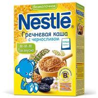 Каша Nestle гречневая с черносливом и бифидобактериями с витаминами и минералами 4 мес. 200 г