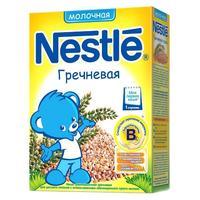 Каша Nestle молочная гречневая с бифидобактериями с витаминами и минералами 4 мес. 250г упак.