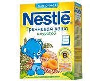 Каша Nestle молочная гречневая с курагой с бифидобактериями с витаминами и минералами 5 мес. 250г упак.
