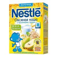 Каша Nestle молочная овсяная с кусочками груши с бифидобактериями с витаминами и минералами 8 мес. 250г упак.